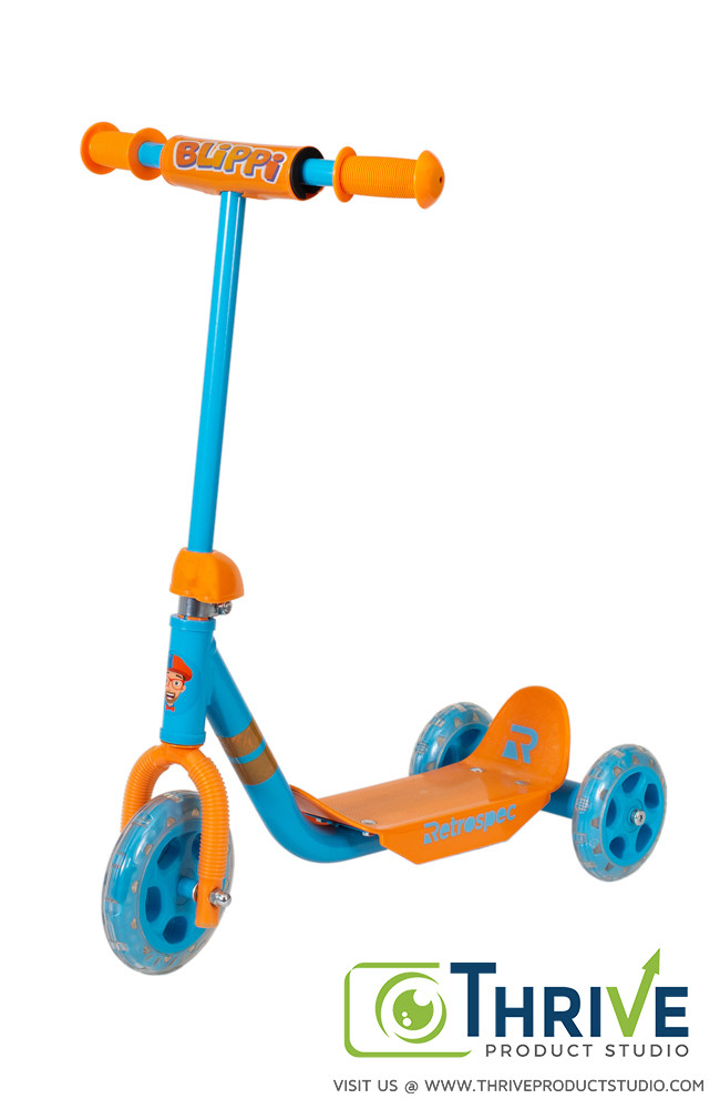 Blippi Scooter, Thrive Product Studio's Example of Amazon Product Photography